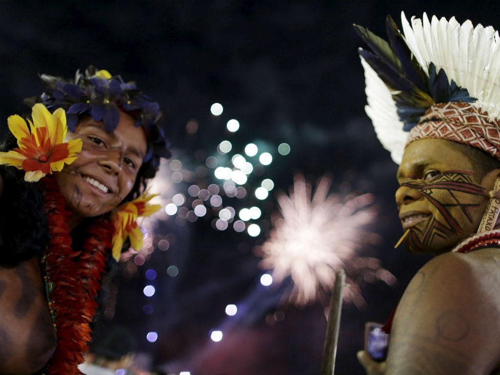 Jogos Mundiais dos Povos Indígenas (Reuters/Ueslei Marcelino)