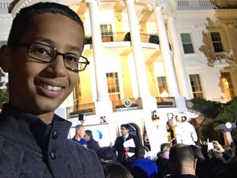 Ahmed Mohamed - 14 anos