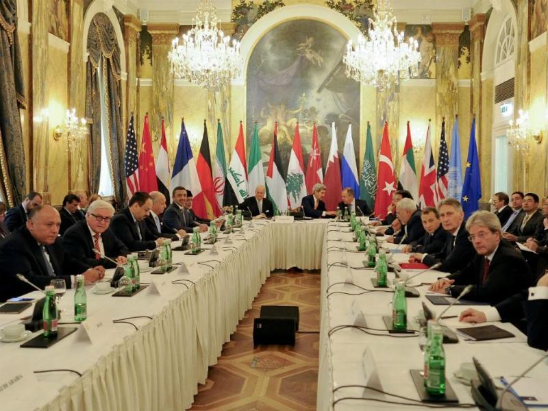 Encontro de potências para discutir futuro da Síria (EPA/Lusa)
