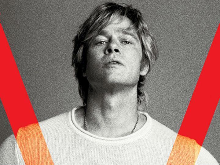 Brad Pitt capa da revista V