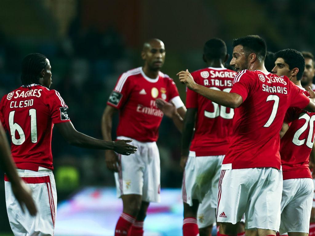 Tondela-Benfica (LUSA/Paulo Novais)