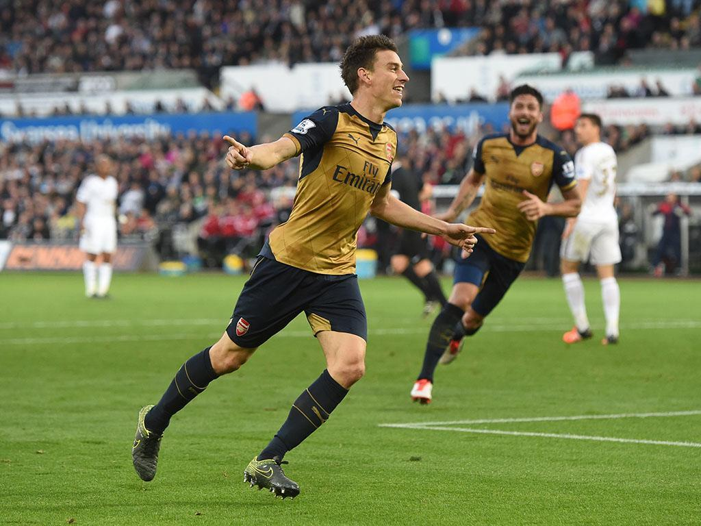 Swansea-Arsenal (Reuters)