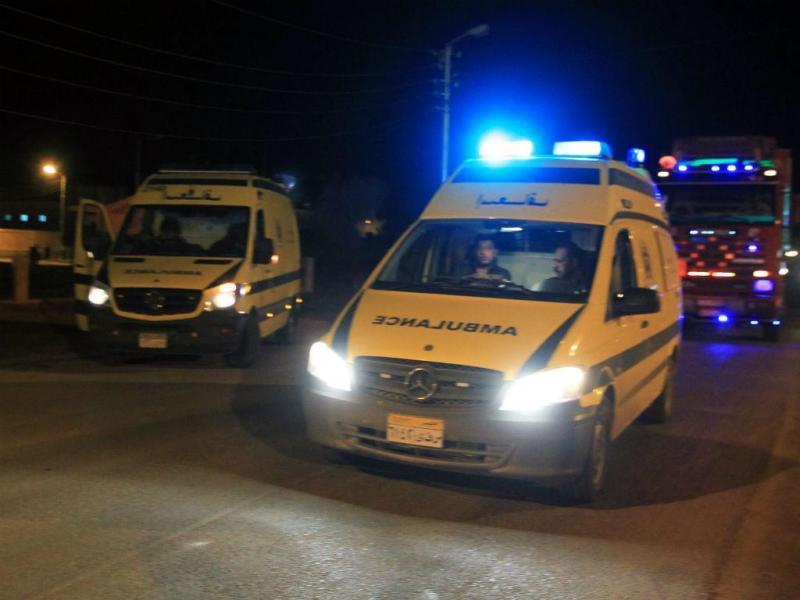 Ambulância no Egito