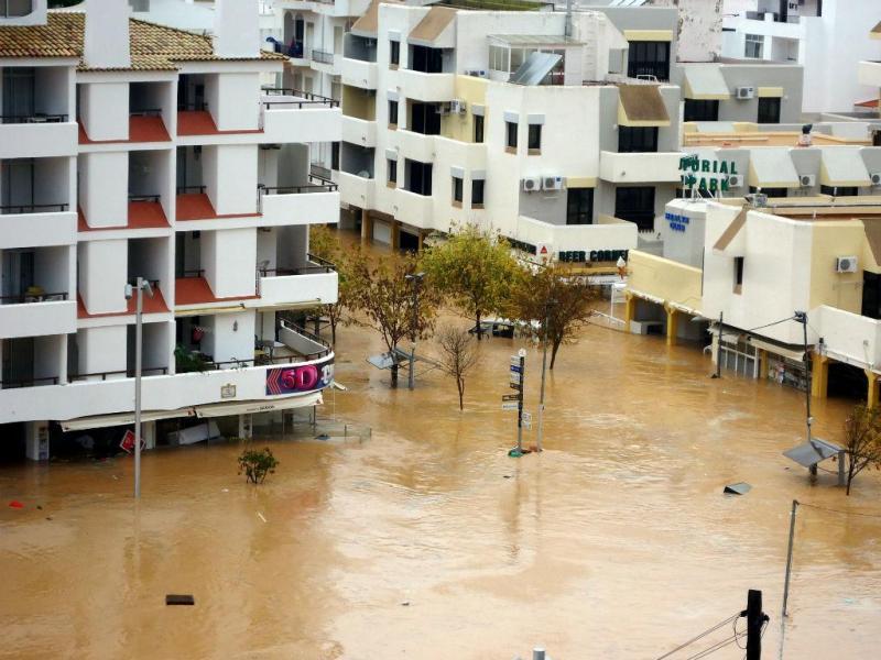Inundações Algarve