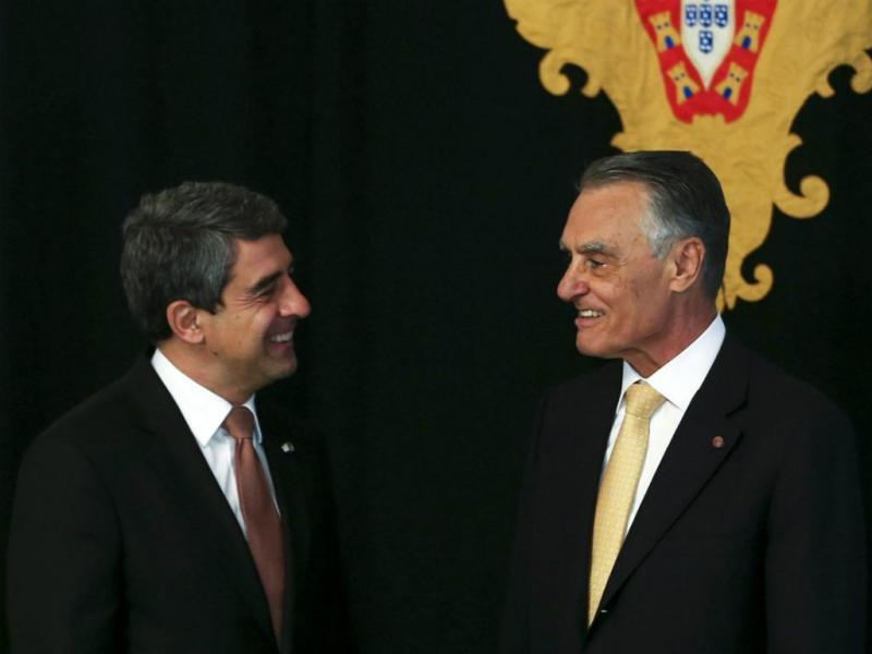 Cavaco Silva recebe presidente da Bulgária