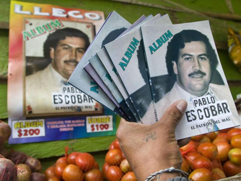 Popularidade de Pablo Escobar está a aumentar