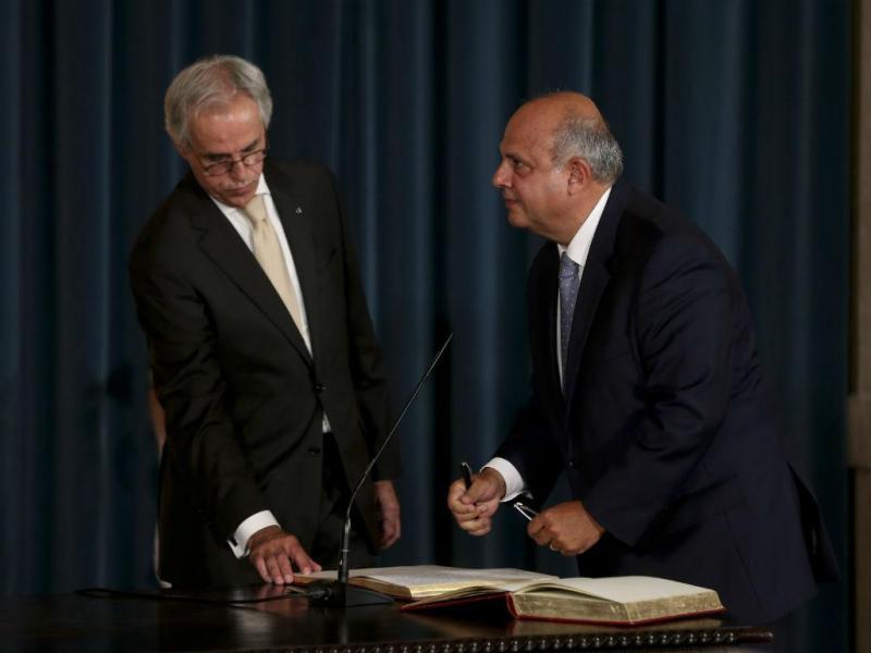 Carlos Costa Neves, ministro dos Assuntos Parlamentares (LUSA)