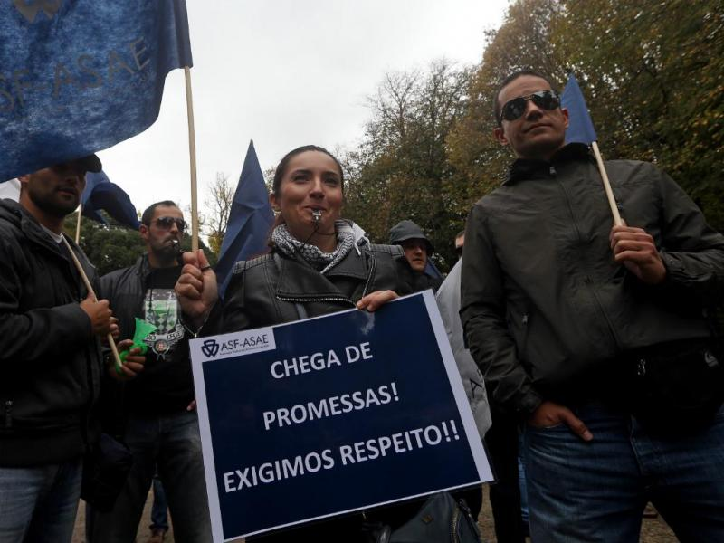 Protesto da ASAE [Lusa]