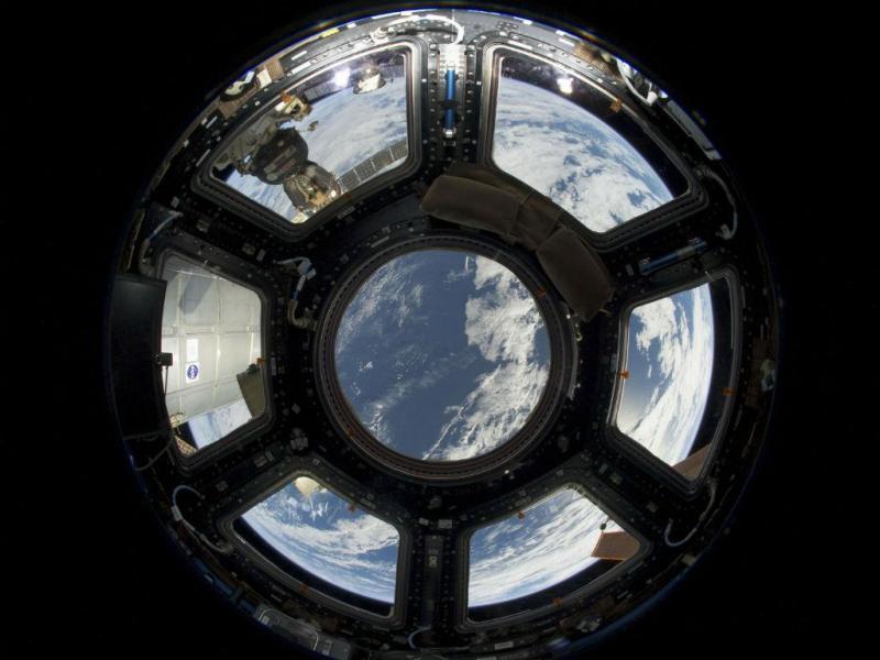 Vista da Terra a partir da cúpula, em 2013 (REUTERS/NASA)