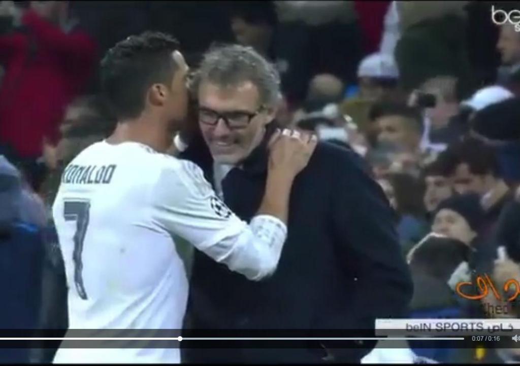 Que disse Cristiano Ronaldo a Laurent Blanc?