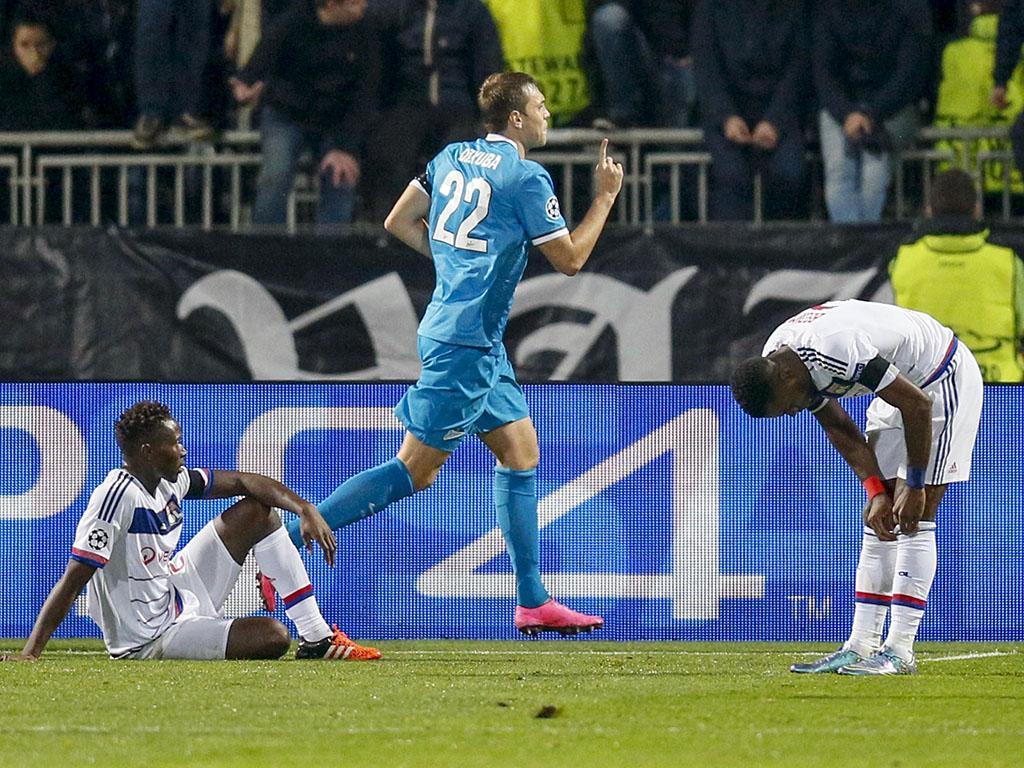Lyon-Zenit (Reuters)