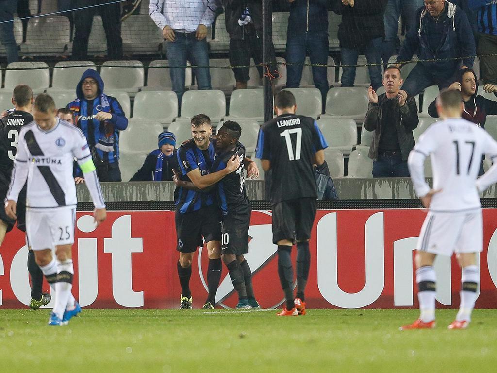 Club Brugge-Legia (Lusa)