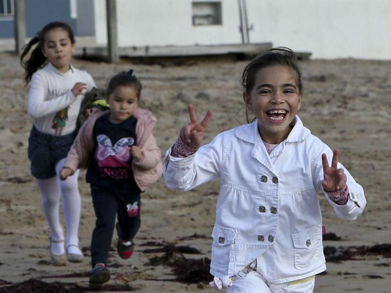 Sorrisos sírios em Portugal