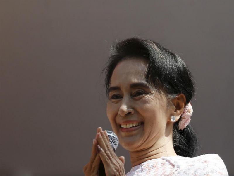 Liga Nacional para a Democracia, de Aung San Suu Kyi, vence eleições