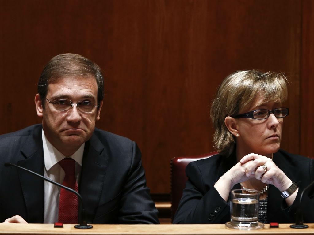 Passos Coelho e Maria Luís Albuquerque
