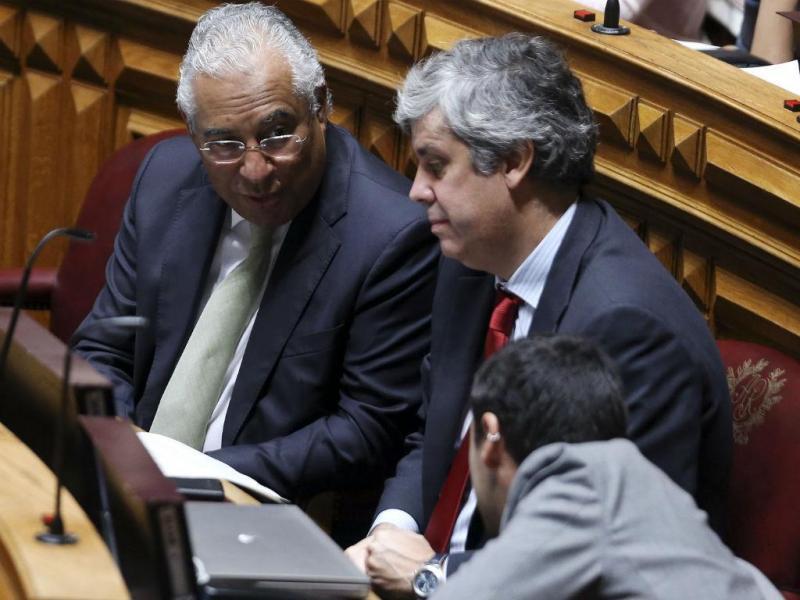 António Costa e Mário Centeno