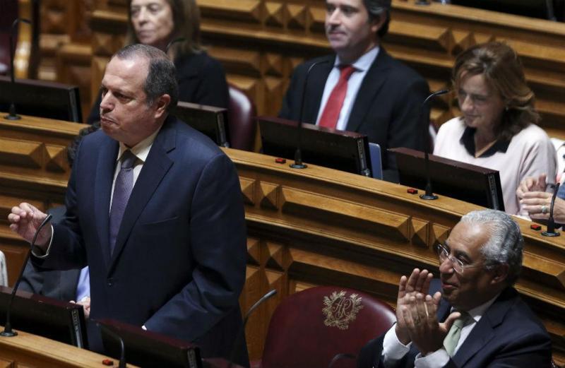 Carlos César e António Costa