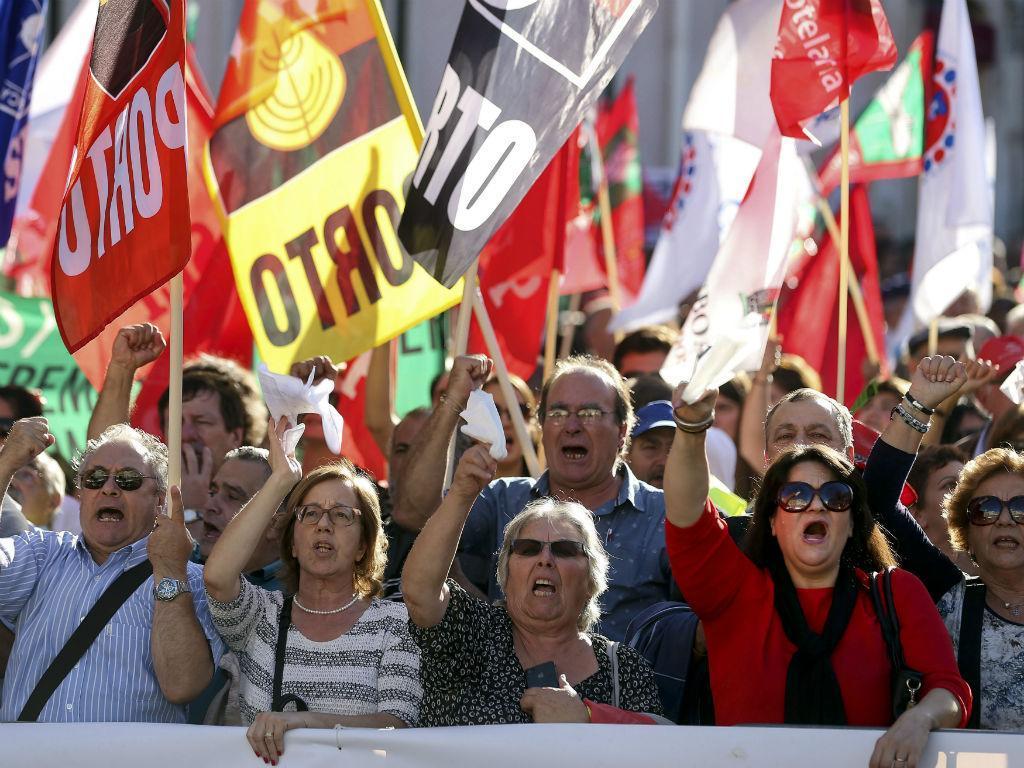 Manifestação da CGTP