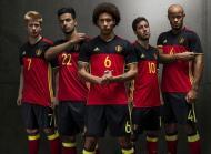 Euro-2016: o equipamento principal da Bélgica (oficial)