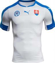 Euro-2016: a camisola principal da Eslováquia (oficial)