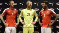 Euro-2016: o equipamento principal da Áustria (oficial)