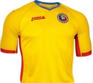 Euro-2016: a camisola principal da Roménia (oficial)