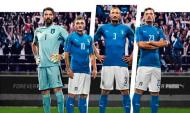 Euro-2016: o equipamento principal de Itália (oficial)