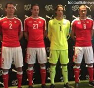 Euro-2016: o equipamento principal da Suíça (oficial)