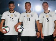 Euro-2016: o equipamento principal da Alemanha (oficial)