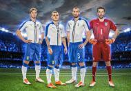 Euro-2016: o equipamento secundário da Itália (oficial)