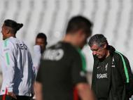 Portugal começa preparação para o jogo com a Rússia (LUSA)