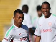 Nani e Bruno Alves