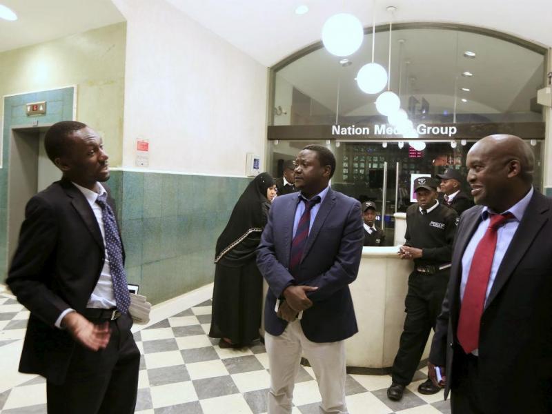 Quénia: editores do jornal