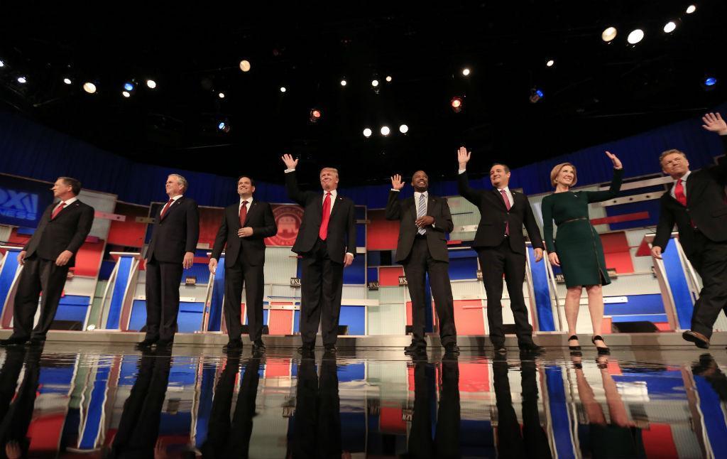 O 4º debate entre os candidatos Republicanos [Reuters\Jim Young]