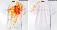 Euro-2016: a camisola alternativa de Espanha (não oficial)