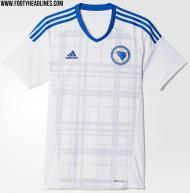 Euro-2016: a camisola principal da Bósnia (não oficial)
