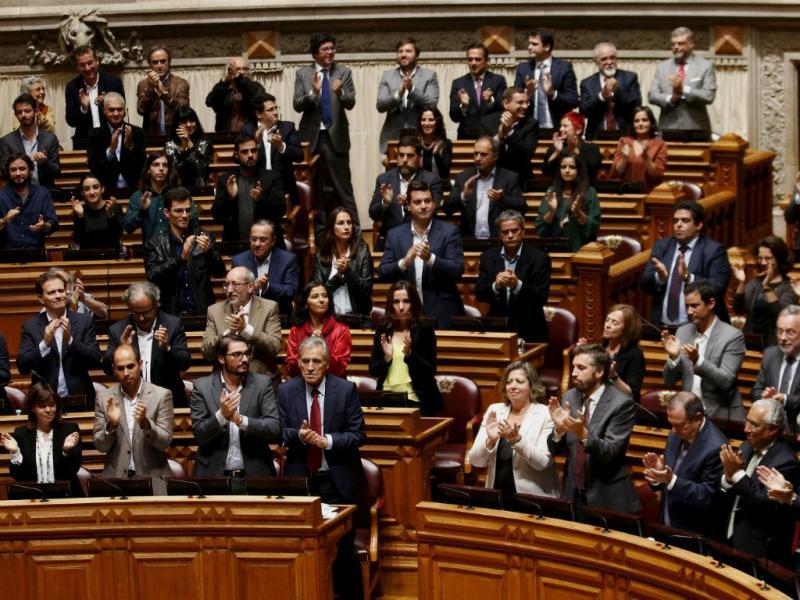 Bancadas da esquerda unidas (Foto: Reuters\André Marchante)