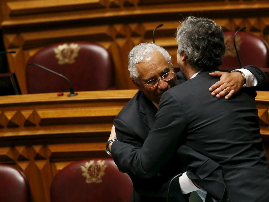 António Costa e Mário Centeno (Foto: Reuters\André Marchante)
