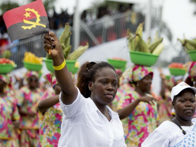 Angola celebra 40 anos de independência (JOOST DE RAEYMAEKER / LUSA)
