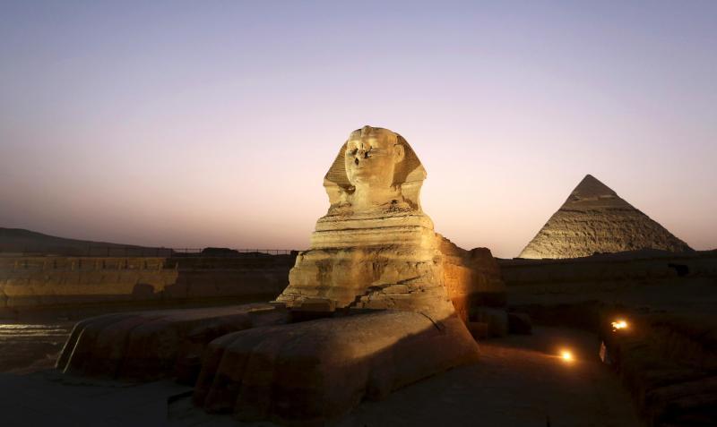 Pirâmides de Gizé, Egito (REUTERS)