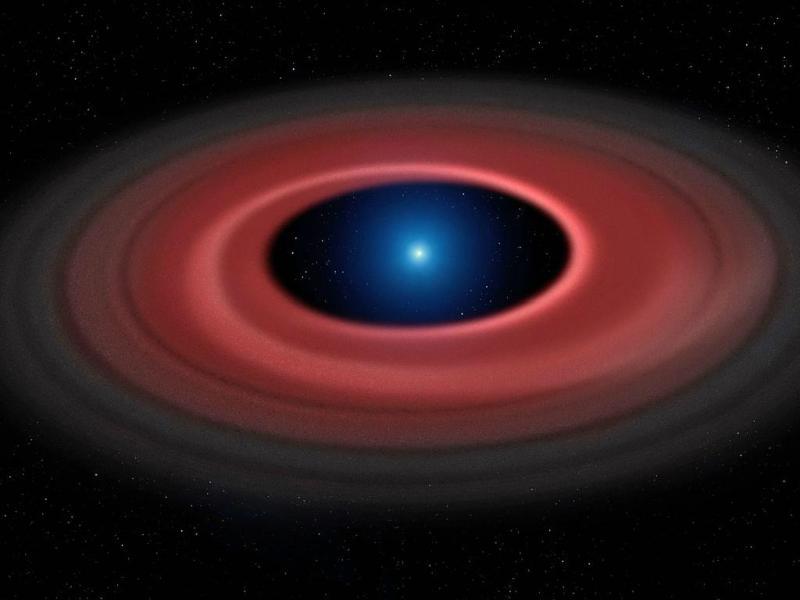 Estrela (Foto Mark Garlick e Universidade de Warwick/ESO)