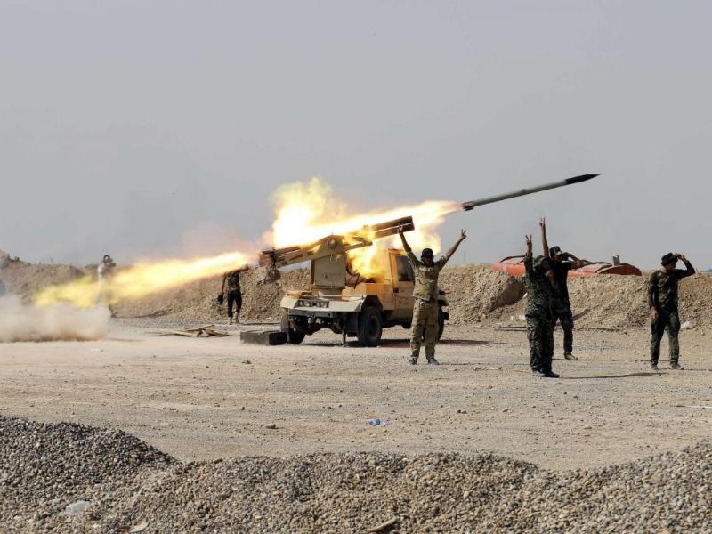 Conflitos entre o Exército sírio e Estado Islâmico (REUTERS / Rodi Disse)