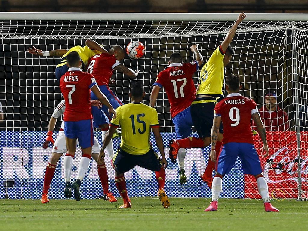 Chile-Colômbia (Reuters)