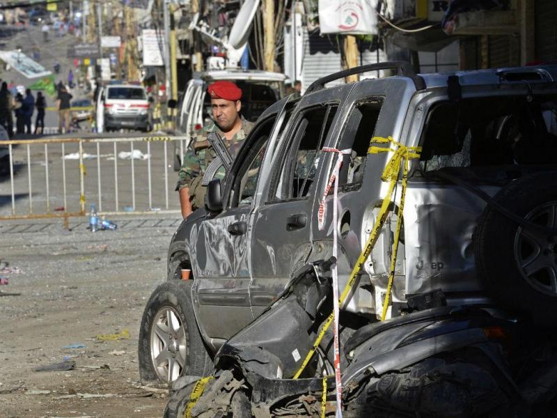 Líbano: Duplo atentado no Líbano (EPA / NABIL Mounzer)