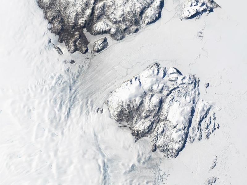 Glaciar (Foto NASA)