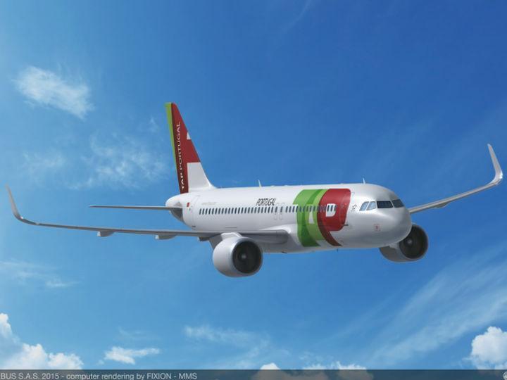 Novos aviões encomendados para a TAP [Foto: Airbus]