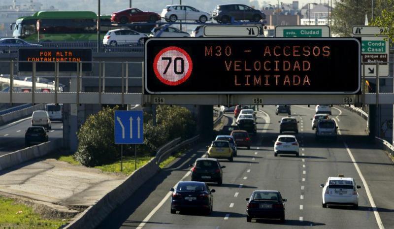 Medidas de combate à poluição em Madrid [Foto: Reuters]