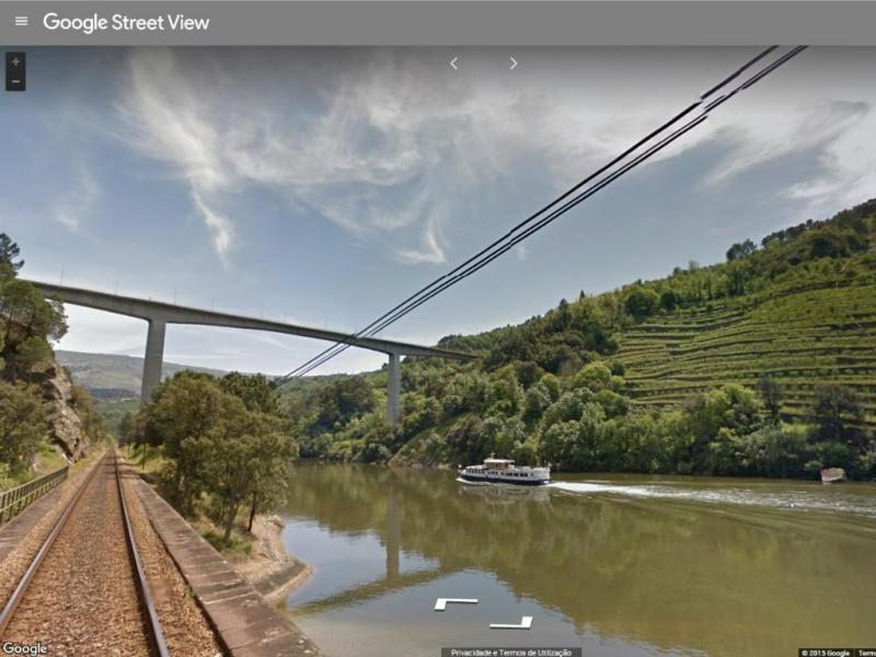 Google Street View dos Comboios