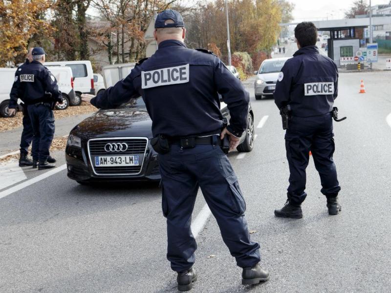 Controlo de fronteiras em França