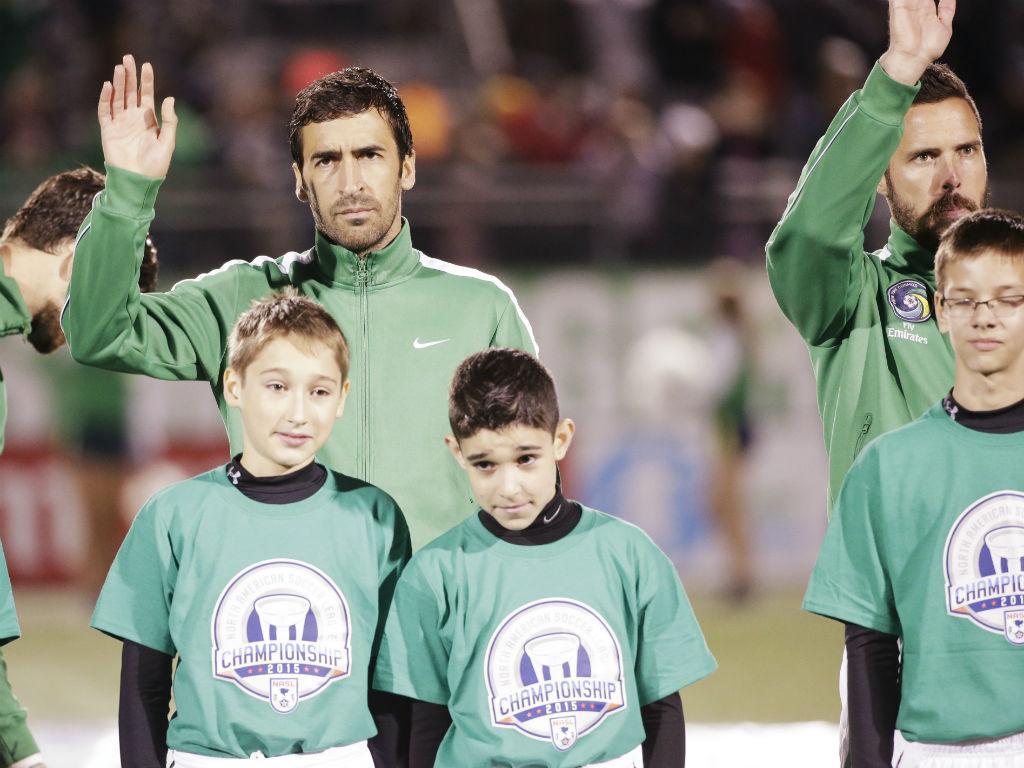 O último jogo de Raul (Reuters)